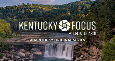 Title card for Kentucky in Focus video series