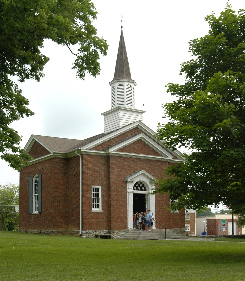 Lincoln Marriage Temple at Old Fort Harrod State Park