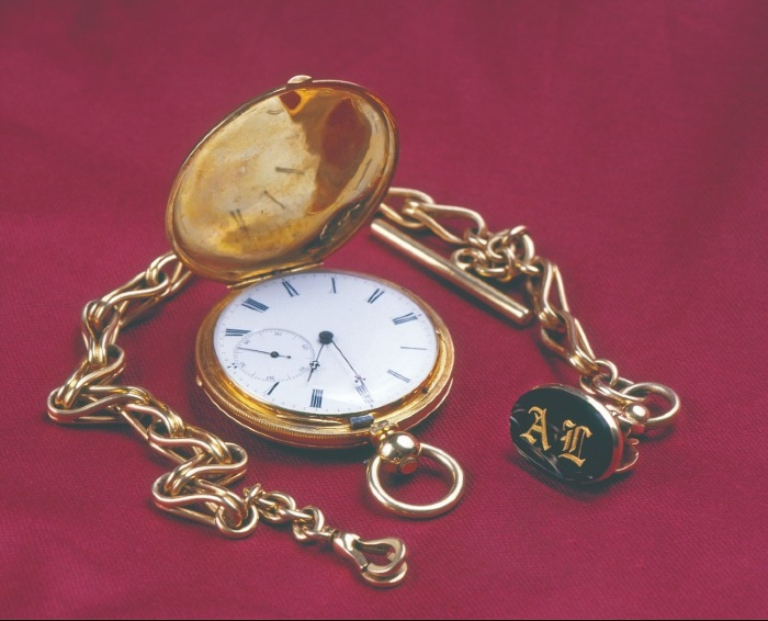 Abraham Lincoln's pocket watch, on display at Thomas D. Clark Center for Kentucky History