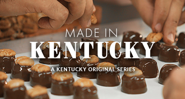 Title card for Made in Kentucky video series