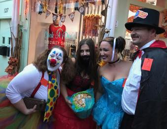 Adult Trick or Treat shopping/dining event Photo