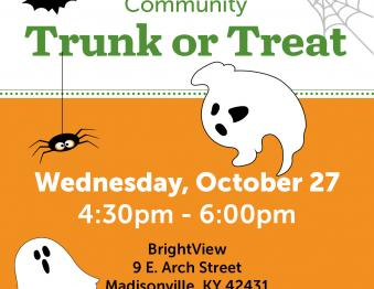 BrightView Trunk-r-Treat Photo