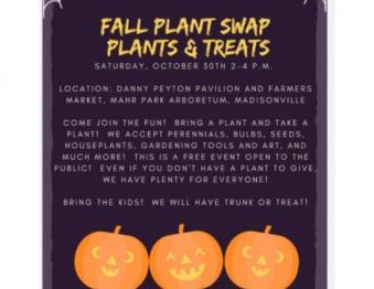 Fall Plant Swap- Plants & Treats! Photo