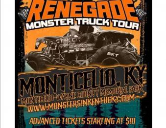 Monster Truck Tour 2021 Photo