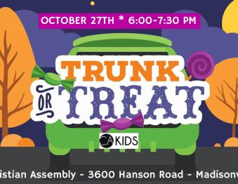 Trunk-R-Treat @ Christian Assembly Photo