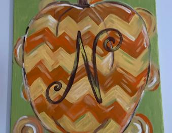 Art in the Park - Fall Paint Class Photo