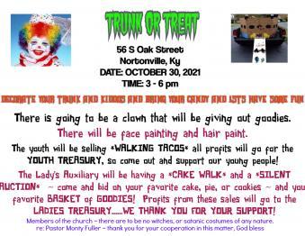Trunk or Treat @ Sanctuary Church Photo