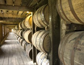 Bourbon Tour: Stitzel Weller/Bulleit, Woodford Reserve, and Jeptha Creed Photo