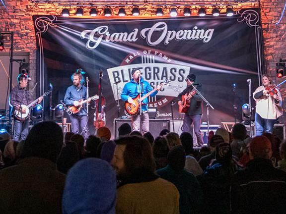 Bluegrass Hall of Fame performance
