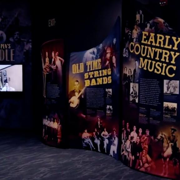 Interior of the Bluegrass Music Hall of Fame & Museum