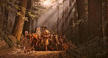 Daniel Boone and early settlers