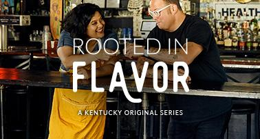 Rooted in Flavor title card