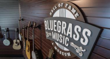 Bluegrass Music Sign