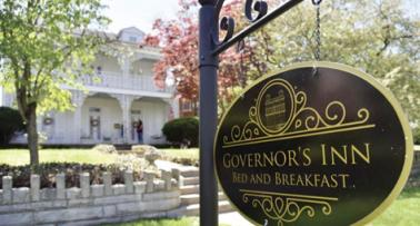 Governors Inn Bed and Breakfast sign