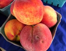 Fresh peaches Photo