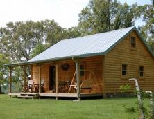 Charming 3 bedroom 1 bathroom cabin.  Photo