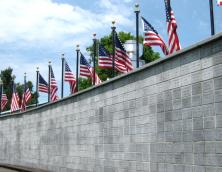 Liberty Park Veteran's Wall Photo