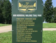 War Memorial Disc Golf Course Photo