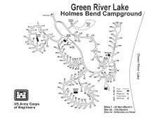 Holmes Bend Campground Green River Lake Photo