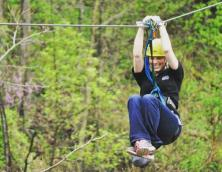 White Lightning Zip Line Photo