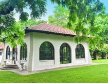This is the Old Louisville Visitors Center, located inside of Central Park in Louisville.  Photo