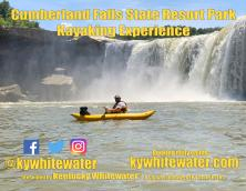 Kentucky Whitewater Kayaking and Rafting at Cumberland Falls State Resort Park Photo