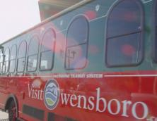 Owensboro Transit Downtown Trolley Photo