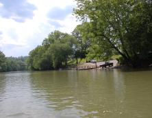 Beattyville Boat Ramp on North Fork of the Kentucky River in Beattyville Photo