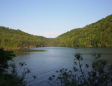 Dewey Lake at Jenny Wiley State Resort Park. Photo