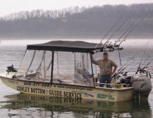 Conley Bottom Striper Guide Service Photo