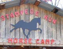 Stampede Run Horse Camp Photo