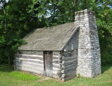 Cabin before restoration  Photo