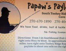 PawPaw's Paylake Photo