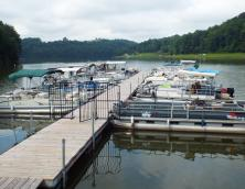 Lake Linville Boat Dock Photo