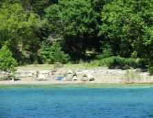 Lake Cumberland Shoreline Primitive Camping Photo