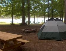 Tompkinsville City Park Primitive Camping Photo