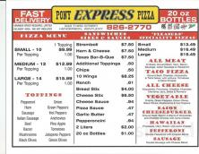 Pony Express Pizza Photo