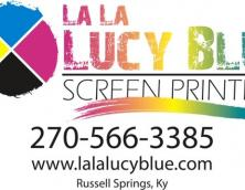 LaLaLucy Blue Screen Printing Photo