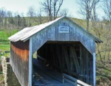 Grange City Covered Bridge Photo