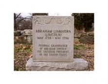 Grave of Captain Abraham Lincoln Photo
