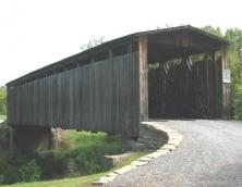 Johnson Creek Covered Bridge Photo