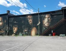 World's Largest Walking Dead Mural Photo