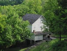 Mill Springs Mill and Brown Lanier House Photo