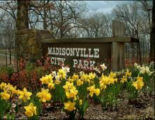 Madisonville City Park Main Entrance Photo