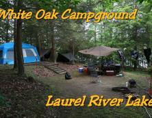 White Oak Boat In Campground Photo