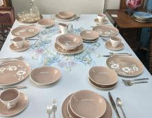 Antique Table Settings  Photo