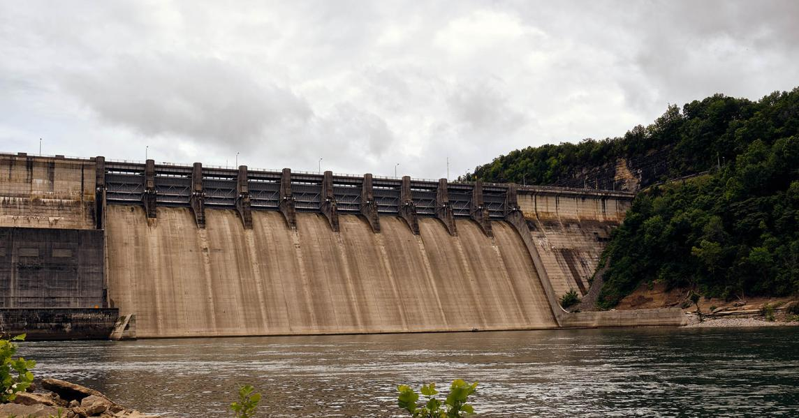 Woolf Creek Dam