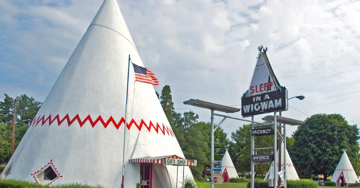 Kentucky's Wigwam Village, one of the most unique places to stay near Mammoth Cave