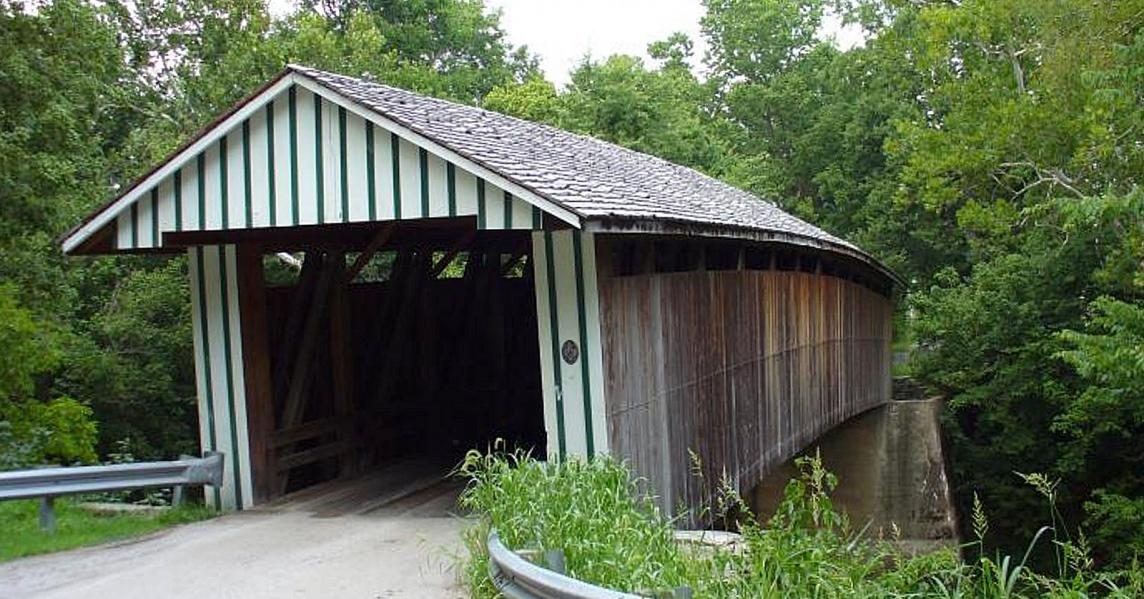 Colville Covered Bridge in Paris, Kentucky