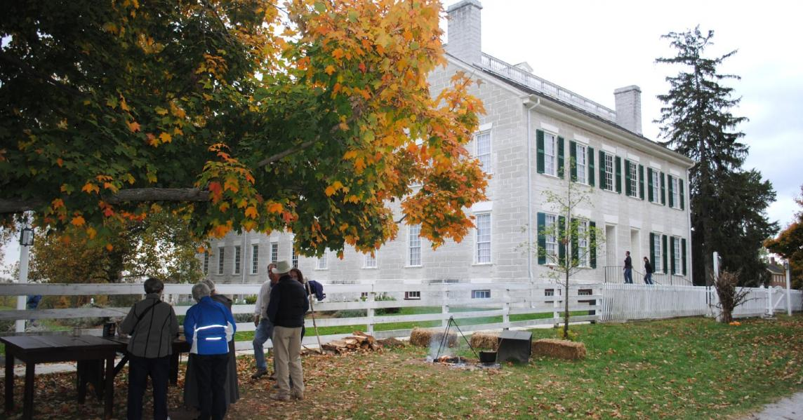 Shaker Village of Pleasant Hill, a religious site in Harrodsburg, KY